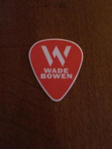 WB Guitar Pick