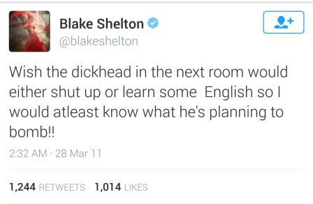 Stupid Blake Tweet #2